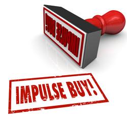 Impulse Buy Stamp Word Desire Feeling Emotional Purchase