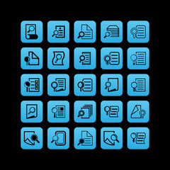 Search document icons