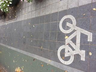 자전거길 표시