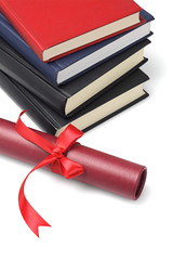 Text Books And Scroll Container