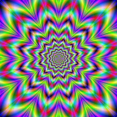 Psychedelic Star Flower