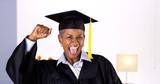Fototapety Proud mature African woman graduate