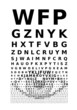 Vector eye chart - 72391092