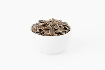 sunflower seeds in a cup
