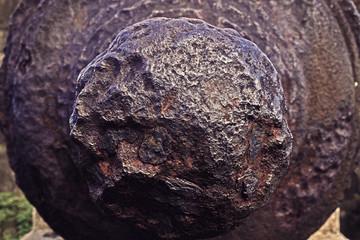 vintage cannon back closeup