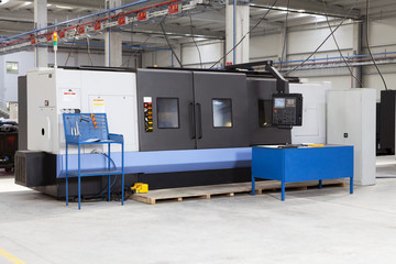 CNC Industrial Machinery.