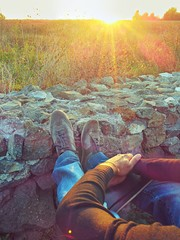 Riflettere al tramonto