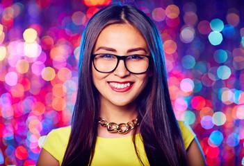 Girl in eyeglasses