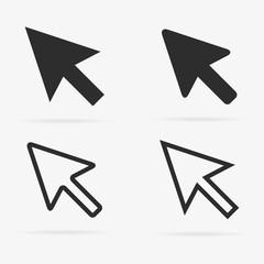 Set of cursors