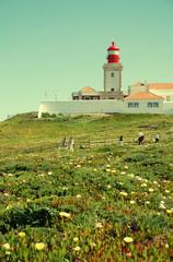 Cabo da Roca Lighthouse, Portugal.