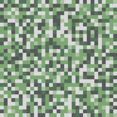 Abstract Green Pixel Art Vector Background