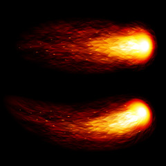 Vector fireball