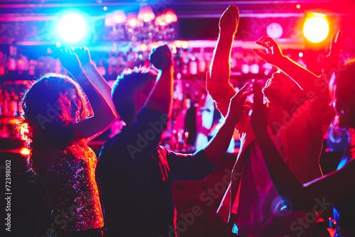 Leinwanddruck Bild Dance lovers