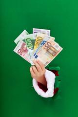 Money for the christmas shopping rush