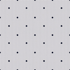 pink dotted lacy seamless pattern