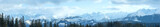 Winter mountain panorama (Slovakia, High Tatras). - 72402843
