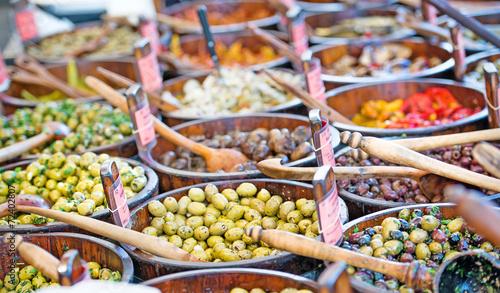 Mediterranan olives - 72402807
