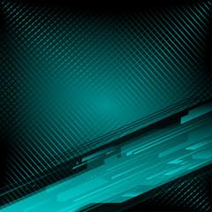 Dark blue grid background