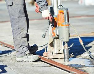 industrial concrete drilling