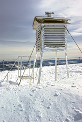 Winter weather station