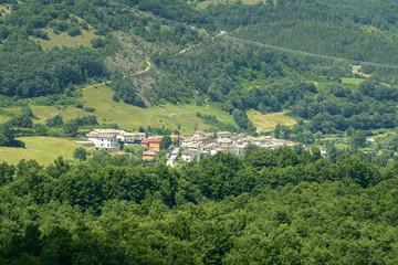 Village near Leonessa (Italy)