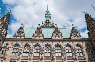 Hamburg Town-hall - Germany, Hamburg
