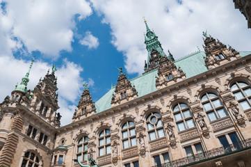 Hamburg Town-hall - Germany, Hamburg