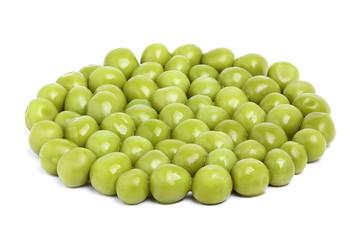Perfect tinned peas.