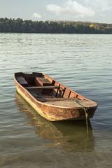 Old fishing boat.