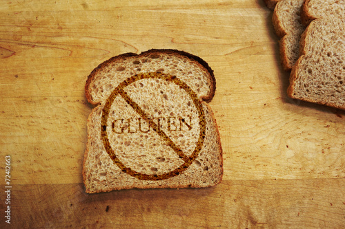 Staande foto Brood Gluten free diet