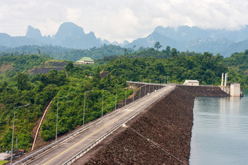 natural attractions in Ratchaprapa Dam at Khao Sok National Park