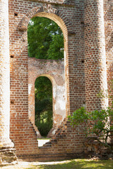 Old Church Ruins, from South Carolina