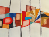 Fototapety an abstract watercolor painting