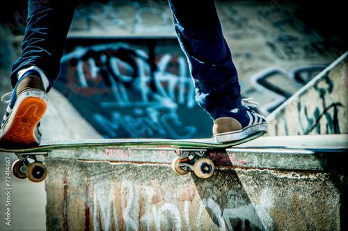Plakat Skateboard
