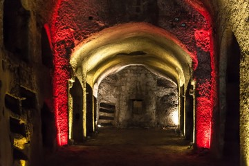 Catacombs of San Gennaro in Naples