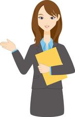 会社員 女性