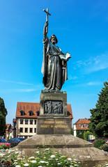 Statue Saint Bonifatius in Fulda