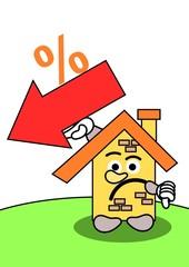 Minder goede verkoop cijfers vastgoed