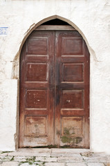 mediterranean old door
