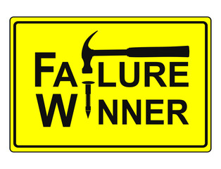 Fail to Win, no Winner without Failure