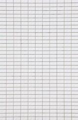 Close - up white mosaic wall background seamless