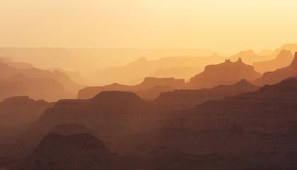 Grand Canyon shapes