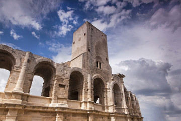 Beautiful arena in Arles, France