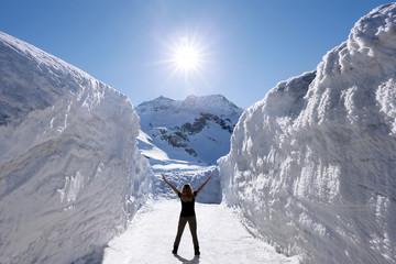 So viel Schnee