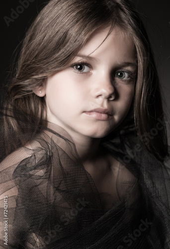 canvas print picture Girl posing