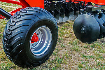 Part of a agricultural machinery 1