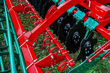 Part of a agricultural machinery 3