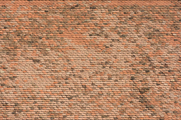 House Roof Tiles Background Texture