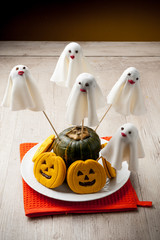 Fantasmini dolcetti halloween