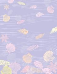 sea shells underwater
